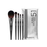 _FLALIA_ SI_REAL Makeup Brush Set _A_ 5 pieces